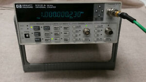 Agilent 53131a 225 Mhz 3ghz Universal Frequency Counter