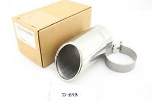 New Gm Oem Stainless Dual Wall Exhaust Tip 2007 2021 22799816 Chevy Gmc 6 0 6 2