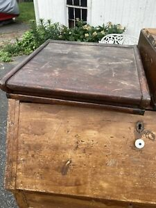 Antique Globe Wernicke Cabinet Top Parts Card Catalog Cabinet