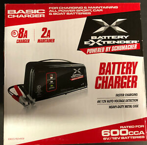 Schumacher Battery Charger 8 Amp Automatic Be01249