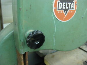 Threaded Knobs For The Wheel Covers On Vintage Delta 14 Band Saws