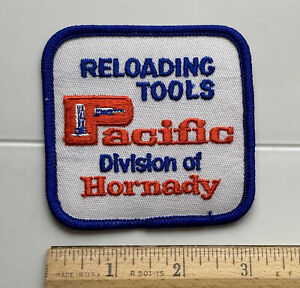 Pacific Reloading Tool A Division of Hornady Ammo Ammunition Embroidered Patch $9.99