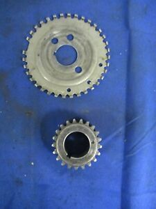 2003 04 Ford Mustang Svt Cobra Lower Timing Gear And Reluctor Wheel 059