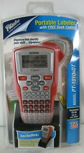 Brother Label Maker P touch Pt 1010 Thermal Printer Model Pt 1010rdt Red New