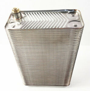 100 plate Water To Water Brazed Plate Heat Exchanger