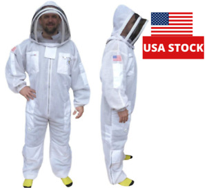 Small 3 Layer Ultra Ventilated Beekeeping Suit Professional Bee Suit 3 Layer