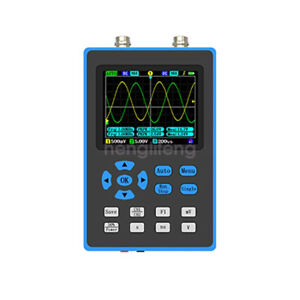New 2 Channel Handheld Oscilloscope 120m Bandwidth 500ms Sampling Rate Dso2512g