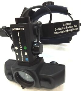 Free Shipping Rechargeable Led Indirect Ophthalmoscope With Accessories