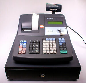 Sharp Electronic Cash Register Model Xe a506 Good Condition