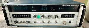Gigatronics 600 10 18 Ghz Signal General Synthesizer Config 158