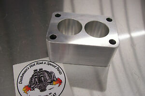 Fits Tri Power Spacer Small Rochester 2g Carb Riser Stromberg Ww Carter 2