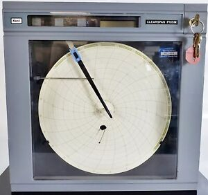 Kent P105m Clearspan Process Control Circular Chart Recorder Very Good Condition