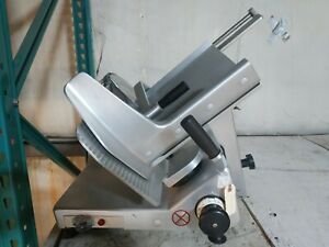 Used Bizerba Se12 Manual Commercial Deli Meat Slicer With Toggle Switch