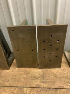 Unslotted Webbed Angle Plate 16 X 8 X 9 Item 1201