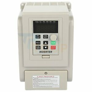 Ac 220v 4kw 5hp Variable Frequency Drive Inverter Vfd Single To Three Phase