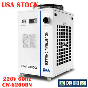 Cw 6200bn Water Chiller Cooler For 600w Co2 400w Solid state Laser usa