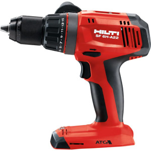 22v 1 2 In Hammer Drill Driver Sf 6h a With Active Torque Control tool only