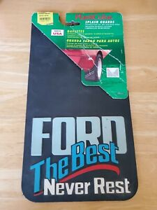 New Vintage Ford The Best Never Rest Truck Mud Flaps Splash Guards Made In Usa