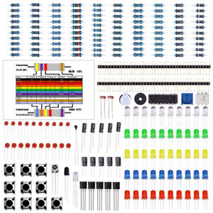 Supplies Basic Starter Kit Electronics Components Capacitor Led Buzzer