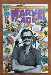 Marvel Age #41 Stan The Man Lee special. Vf condition. Must have for Stan#x27;s fans C $29.99