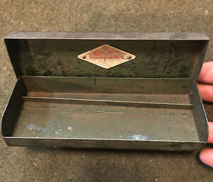 Vintage S K Tools Socket Tool Box For A 1 4 Inch Set Made In Usa Box Only