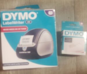Dymo Labelwriter 450 Label Printer Plus A New Box Of 520 Labels