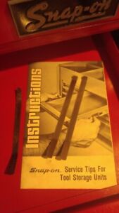 Snap On Tool Box Drawer Remover Tools With Instructions Sold In Pairs