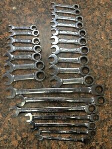 Matco 7 Piece Extra Long Double Box 17 Stubby Sae And Metric Set P23