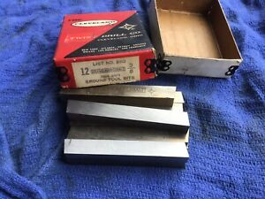 Cleveland Mo max Cobalt 3 8 Square Lathe Cutting Tool Bits This Sale For One