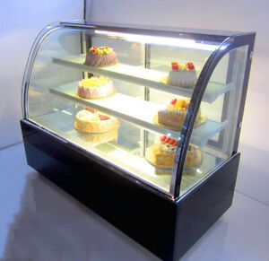 220v Countertop Refrigerated Cabinet Food Display Cases With Moisture 35 4x19 6
