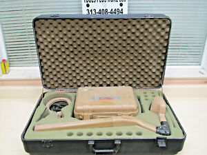 Subsite 75t 75r Underground Utility Cable Pipe Locator W Clamp Case Used
