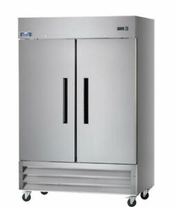 Arctic Air Af49 Two Section Reach in Commercial Freezer 49 Cu ft