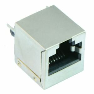 5 X 8 pin Rj45 Socket With Shield Network Ethernet