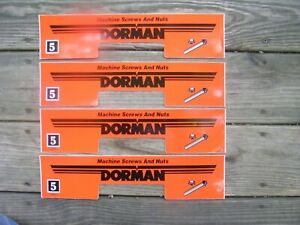 Dorman 4 Drawer Metal Parts Cabinet Peel Stick Front Labels 44 All Different