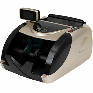 Automatic Bill Money Counter Cash Counting Counterfeit Detector Machine Uv Mg Ir
