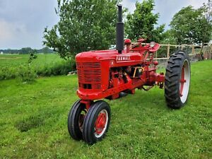 International Harvester Farmall H Tractor Great Condition 1945