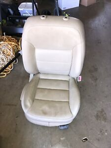 Front Passenger Seat Used From A 2004 Vw Mk4 Jetta In Beige Leather
