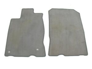 11 12 13 14 15 16 Honda Cr Z Crz Front Gray Floor Mats Rugs Liners Used Genuine