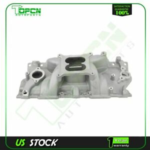 Engine Intake Manifold Fit For 1955 86 Small Block Chevy 262 400