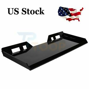 5 16 In Skid Steer Mount Plate Quick Attachment Tractor Adapter Attach Plate