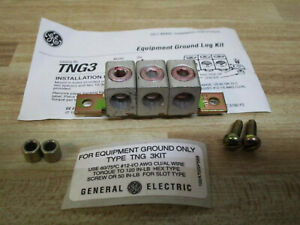 Ge General Electric Tng3 Equipment Ground Lug Kit New Pack Free Priority Mail