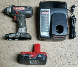 Craftsman 192 Volt 38 3 Speed Impact Driver Model 315 With Battery Amp Charger