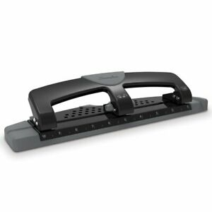 Swingline Smarttouch 3 hole Punch Low Force 12 Sheets Hole Punches