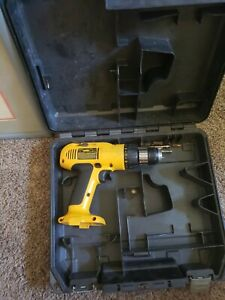 Dewalt Dw972 Cordless Drill no Battery no Charger Used Case