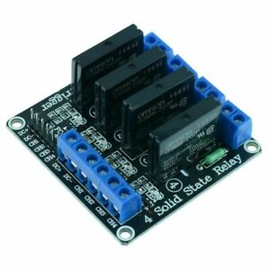 5v 4 Channel Solid State Relay Board Ssr Raspberry Pi Arduino Pic