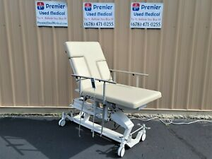 Biodex Echo Pro Table Model 056 700 W New Creme Upholstery