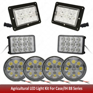 Led Floodlight Kit For Case Ih 88 Series Tractors 3088 3288 3488 3688 5088 5488