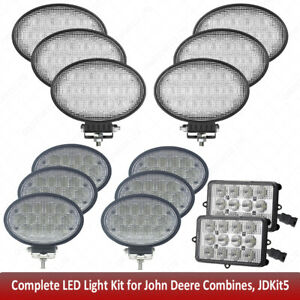 Led Light Kit For John Deere Combine 9470sts 9560sts 9570sts 9650sts 9660st