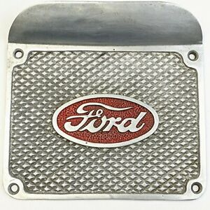 Vintage Ford Model A Running Board Step Foot Plate Aluminum