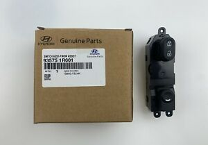 Accent 2012 To 2017 Front Right Door Power Window Switch Passenger Side New Oem
